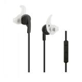 Qoltec BT wireless stereo Earphones + microphone | Black