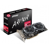 Placa video MSI AMD Radeon RX 580 Armor OC 8GB GDDR5 256bit PCI-E x16 3.0 DVI HDMI DisplayPort RX 580 ARMOR 8G OC