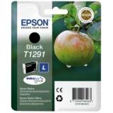 Cerneala Epson T129 negru BLISTER | Stylus SX425W/SX525WD/BX305F/BX320FW/BX625FW