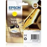 Cerneala Epson T1634 XL galben DURABrite | 6,5 ml | WF-2010/25x0