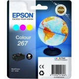 Cerneala Epson Colour 267 cartridge | WorkForce WF-100W