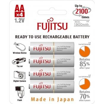 Fujitsu White R6/AA 1900 mAh - 4 buc. box