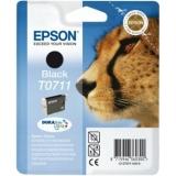 Cerneala Epson T0711 negru DURABrite | Stylus D78/92/120/DX4000/4050/4400/4450/5