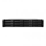 Synology RS3617xs+, 12-Bay SATA 3G, Xeon 2,2GHz, 4GB ECC, 4xGbE LAN, 2xUSB 3.0