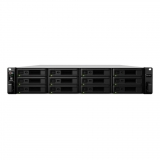 Synology RS3617RPxs, 12-Bay SATA HD, RAID 0/1/5/6, 2 x PSU ( no rail kit)