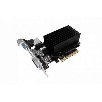 Placa Video Palit nVidia GeForce GT 710 2GB GDDR3 64bit PCI-E x8 2.0 VGA DVI HDMI NEAT7100HD46H