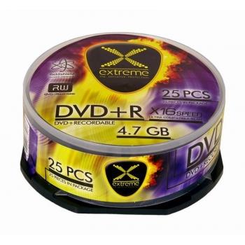 DVD+R Extreme [ cake box 25 | 4.7GB | 16x ]