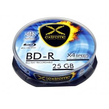 BluRay BD-R Extreme [ Cake Box 10   25GB   4x ]