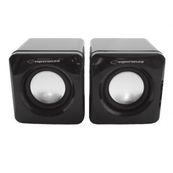 Boxe 2.0 Esperanza Leggiero EP111 Cube USB 5905784768656