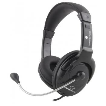 Casti Esperanza EH101 cu microfon si control de volum EH101 - 5905784767840