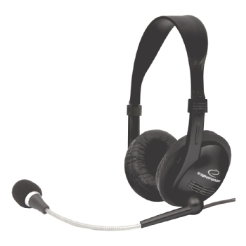 Casti Esperanza EH115 cu microfon È™i control de volum EH115 - 5905784767987