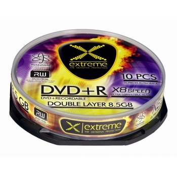 DVD+R Double Layer Extreme [ cake box 10 | 8,5 GB | 8x
