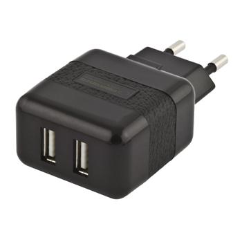 ESPERANZA universal Adaptor încărcător - 2 x USB | AC 220-240V | 5V | 2100mA