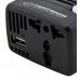 Invertor ESPERANZA 75W EZ104W | DC 12V/AC 220-230V | USB 5V 1500mA