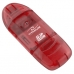 TITANUM Cititor de card SDHC/MiniSDHC/MicroSDHC/RS/MM TA101R roșu USB 2.0