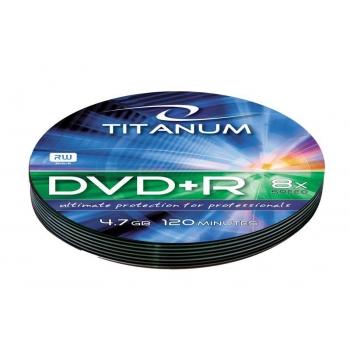 DVD+R TITANUM [ soft pack 10 | 4.7GB | 8x ]