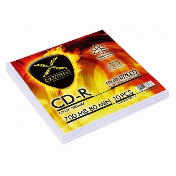 CD-R EXTREME [ envelope 10 | 700MB | 52x | Silver ]