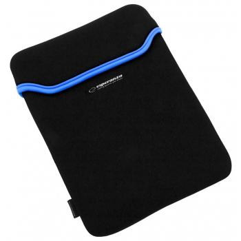ESPERANZA Geanta pentru Tablet 7 '' ET171B   Negru / Albastru   Neopren 3mm