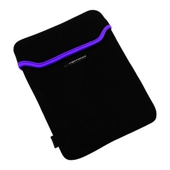 ESPERANZA Geanta pentru Tablet 9,7'' 4:3 ET172V   Negru / Violet   Neopren 3mm