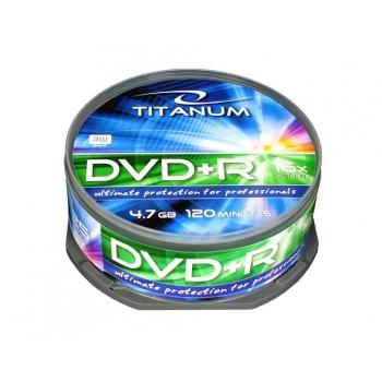 DVD+R TITANUM [ cake box 25 | 4.7GB | 16x ]