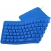 Tastatura Esperanza EK126B silicon OTG flexibil impermeabil blue USB 5901299905012