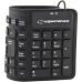 Tastatura Esperanza EK126K silicon OTG flexibil impermeabil black USB 5901299904992