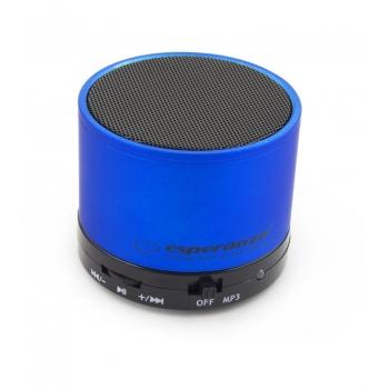 Boxa Wireless Esperanza EP115B Bluetooth RITMO Blue EP115B - 5901299909218