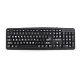 Tastatura Esperanza EK129 pentru seniori - taste cu majuscule 5901299909119