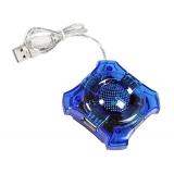 Hub USB Esperanza EA150B 4 porturi USB 2.0 5901299903797