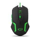Mouse Esperanza EGM205G Optic 6D 6 butoane 2400dpi USB Green 5901299925539