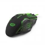 Mouse Esperanza EGM403G Optic 6D 6 butoane 2400dpi Verde USB 5901299925478