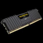 Corsair Vengeance LPX, 16GB (1 x 16GB), DDR4 DRAM, 3000MHz, C16, Black