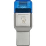 Kingston MobileLite DUO 3C USB3.1+TypeC microSDHC/SDXC Card Reader