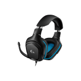 LOGITECH 981-000770 Logitech G432 7.1 Surround Sound Wired Gaming Headset, USB, Leatherette