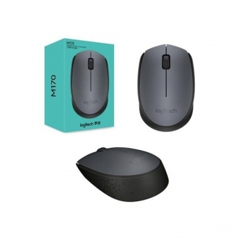 Mouse Wireless Logitech M170 GREY-K optic 3 butoane USB 910-004642