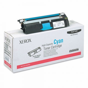 Cartus Toner Xerox 113R00693 Cyan High Capacity 4500 Pagini for Phaser 6115 MFP/D, Phaser 6120
