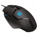 Mouse Logitech G402 Hyperion Fury 8 butoane 4000dp 32-bit ARM Processor black 910-004067