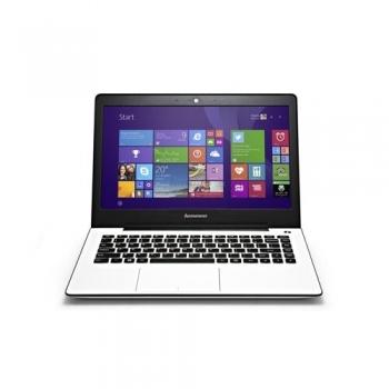 "Laptop Lenovo IdeaPad U31-70, 13.3"" FHD (1920x1080), antireflexie, LED- Backlight, Intel Core i3-5005U (2GHz, 1600MHz, 3MB), video dedicat nVidia GM-920M 2GB, RAM 4GB DDR3 1600Mhz (1x4GB), SSHD 1TB 5400rpm + 8GB, no ODD, Card Reader 4-1, boxe stereo"