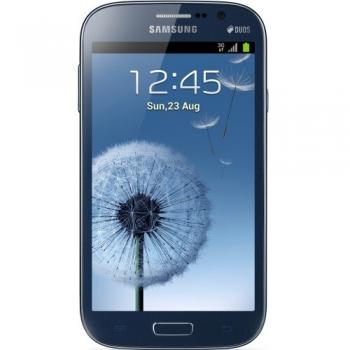 "Telefon Mobil Samsung Galaxy Grand i9082 Blue Dual SIM 5"" 480 x 800 Dual Core Cortex A9 1.2GHz memorie interna 8GB Camera Foto 8MPx Android v4.1 SAMI9082BLUE"