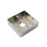 Carcasa ABK-801B-M pentru montarea aplicata a butoanelor din metal Dimensiuni: 86x86x25 mm