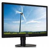 "Monitor LED Philips 24"" 241S4LCB Full HD 1920x1080 VGA DVI Black 241S4LCB/00"