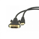 Cablu HDMI-DVI Gembird CC-HDMI-DVI-6 Single Link Male - Male 1.8m
