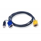Cablu KVM Aten 2L-5202UP USB 1.8m