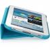 "Husa tableta Samsung EFC-1G2NPECSTD light blue compatibila cu Galaxy TAB 2 7"" cu functie de stand"