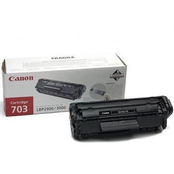 Cartus Toner Canon CRG-703 Black 2500 Pagini for LBP 2900, LBP 3000 CR7616A005AA