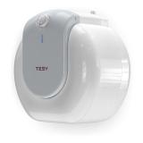 Boiler electric Tesy Compact Line TESY GCU 1515 L52 RC, putere 1500 W, capacitate 15 L, presiune 0.9 Mpa, izolatie 19 mm, instalare sub chiuveta, control mecanic, clasa energetica C, protectie sticla ceramica, timp incalzire 35 min, termostat reglabil, cu
