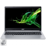 "Laptop Acer Aspire 5 A515-55 cu procesor Intel® Core™ i5-1035G1 pana la 3.60 GHz Ice Lake, 15.6"", Full HD, 8GB, 256GB SSD, Intel UHD Graphics, Linux, Silver NX.HSMEX.006"