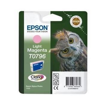 Cartus Cerneala Epson T0796 Light Magenta 930 pagini for Epson Stylus Photo R1400 C13T07964010