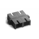 Coupler SC Duplex MM [OM3] XG Plastic/Ceramic, Clip/Screw, Aqua (moq=10pcs) AMP_2-5502776-6