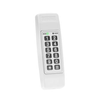 Tastatura de interiorMaxim 500 utilizatoriAcces cu codReleu 3,5A pentru comanda usiiIntrare REXAlimentare 12-16V DCPRODUS NOU